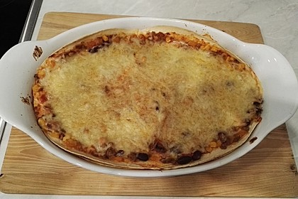 Mells mexikanische Enchilada-Lasagne 40