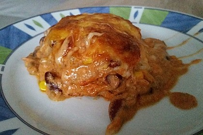 Mells mexikanische Enchilada-Lasagne 56