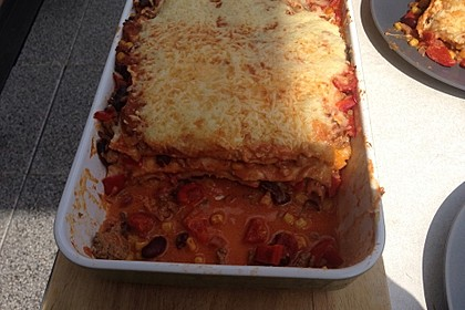 Mells mexikanische Enchilada-Lasagne 31