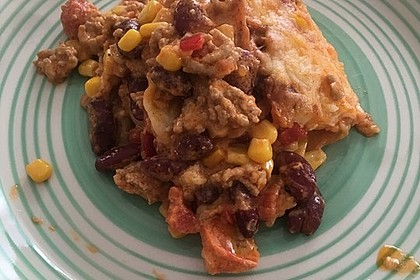 Mells mexikanische Enchilada-Lasagne 54
