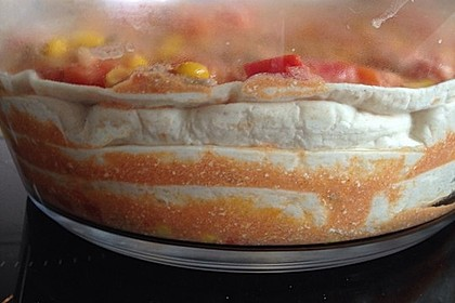 Mells mexikanische Enchilada-Lasagne 36
