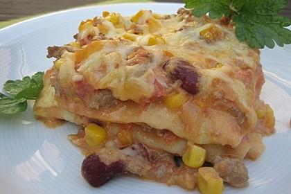 Mells mexikanische Enchilada-Lasagne 37
