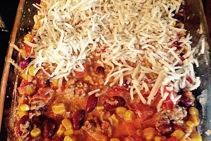 Mells mexikanische Enchilada-Lasagne 57