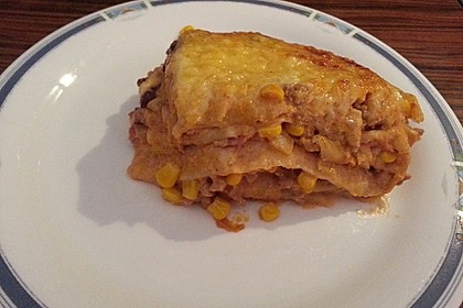 Mells mexikanische Enchilada-Lasagne 51