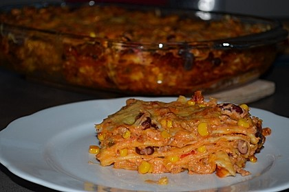 Mells mexikanische Enchilada-Lasagne 5
