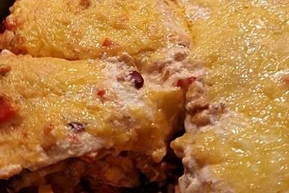 Mells mexikanische Enchilada-Lasagne 59