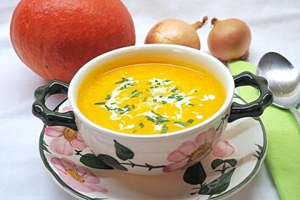 Kürbis-Curry Suppe 1