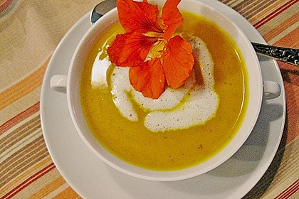 Kürbis-Curry Suppe 3