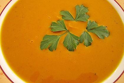 Kürbis-Curry Suppe 6