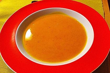 Kürbis-Curry Suppe 25