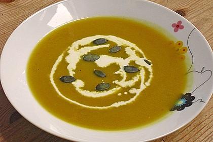 Kürbis-Curry Suppe 19