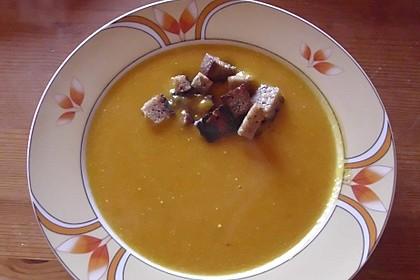 Kürbis-Curry Suppe 20