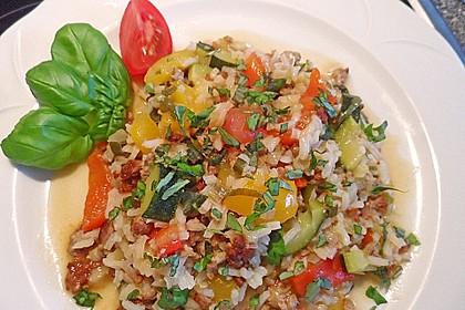 Reis-Hackfleischpfanne mit Paprika 1
