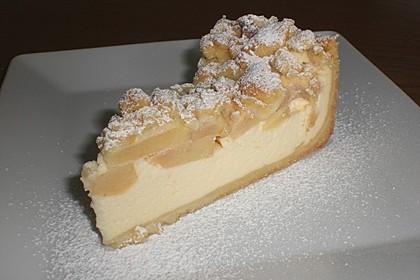 Omas Quark-Apfel-Streusel-Torte