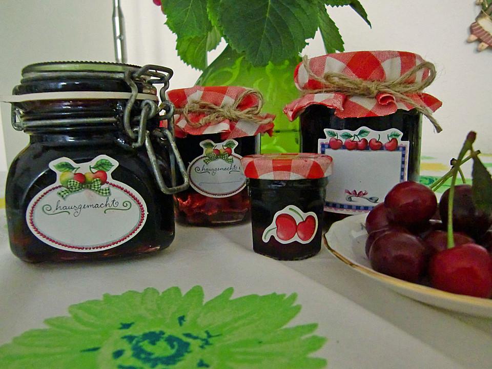 kirschmarmelade ohne gelierzucker rezept mit bild. Black Bedroom Furniture Sets. Home Design Ideas