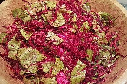 salat mit rote bete sesam und feta rezept mit bild. Black Bedroom Furniture Sets. Home Design Ideas