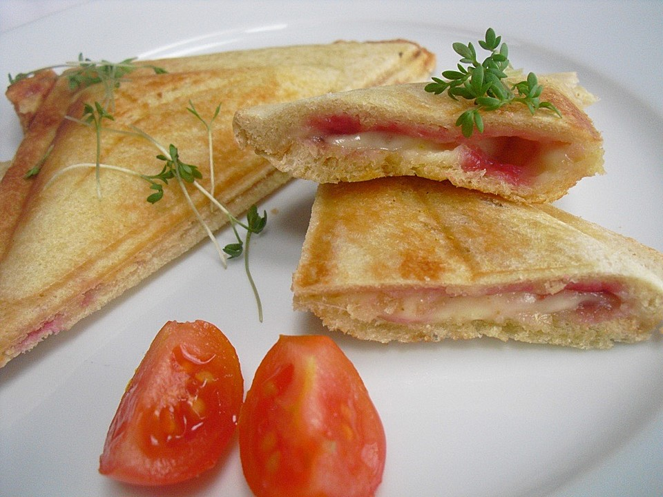 sandwich nach hausmannsrezept f r den sandwichtoaster von. Black Bedroom Furniture Sets. Home Design Ideas