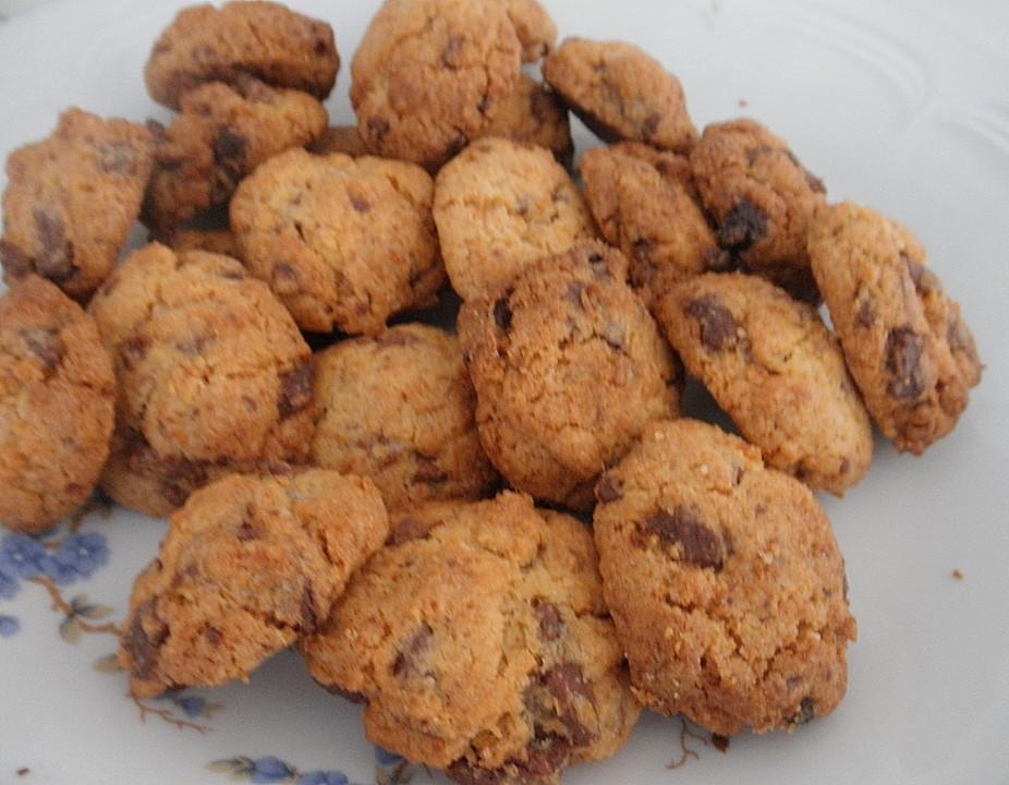 schoko kokos cookies rezept mit bild von windling. Black Bedroom Furniture Sets. Home Design Ideas
