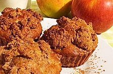 Apfel-Zimt-Muffins mit Haferflocken