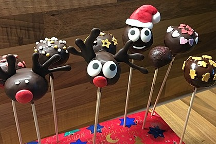 Chocolate Cupcake Cake Pops 57