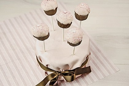 Chocolate Cupcake Cake Pops