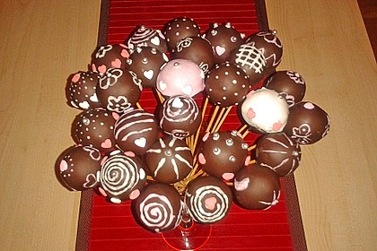 Chocolate Cupcake Cake Pops 24