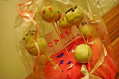Chocolate Cupcake Cake Pops 48