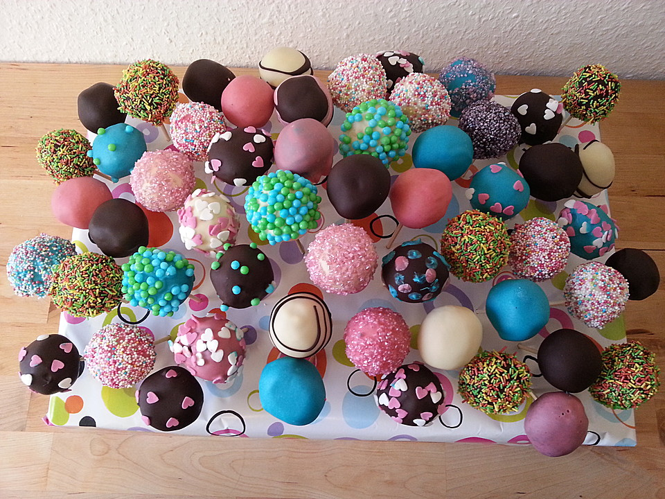 chocolate cupcake cake pops rezept mit bild von dashonigkuchenpferd. Black Bedroom Furniture Sets. Home Design Ideas