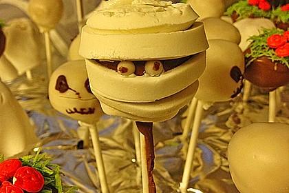 Chocolate Cupcake Cake Pops 9