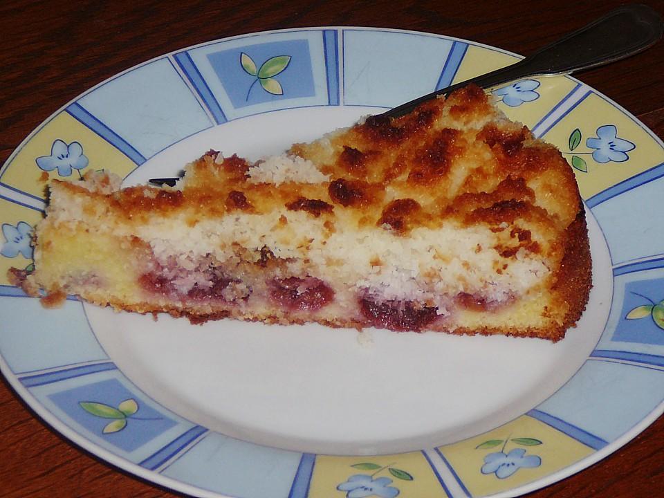 Kirsch Creme Fraiche Kuchen Von Garfield2011 Chefkoch De
