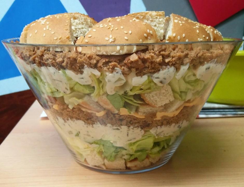big mac salat rezept