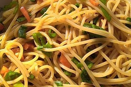 Spaghetti-Curry-Salat 6