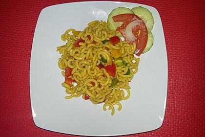 Spaghetti-Curry-Salat 12