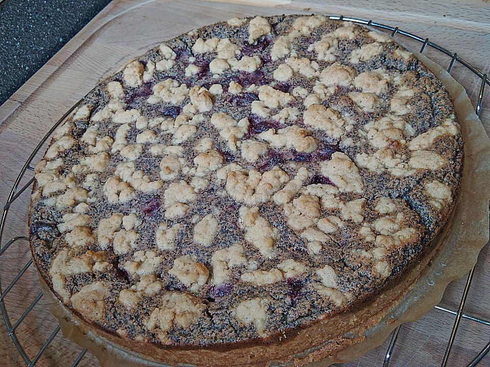 Kirsch Mohn Kuchen Vegan Beliebte Rezepte Von Urlaub Kuchen Foto Blog