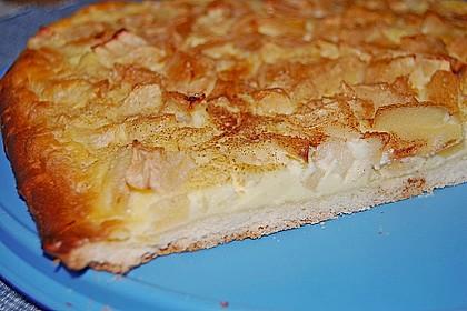 Ricotta-Apfel Kuchen