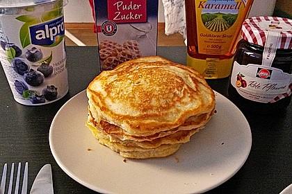 Bananen-Pancakes 9