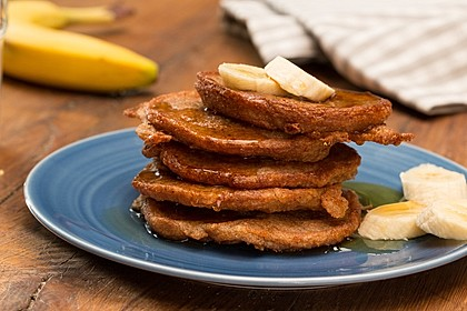 Bananen-Pancakes 2