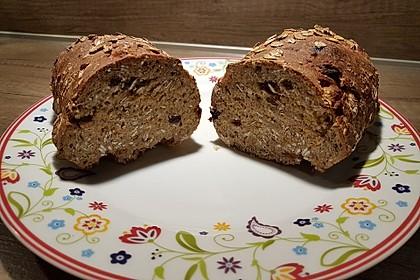 Müslibrötchen oder Müslibrot wie vom Bäcker 4