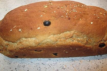 Müslibrötchen oder Müslibrot wie vom Bäcker 1