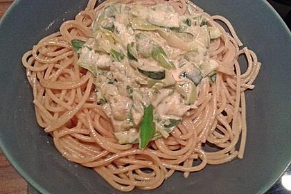 Die berühmten Zucchini-Frischkäse-Nudeln 14