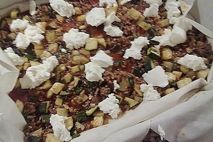 Zucchiniauflauf in Yufkablättern 3
