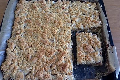 Apfelmus-Streusel-Blechkuchen 3