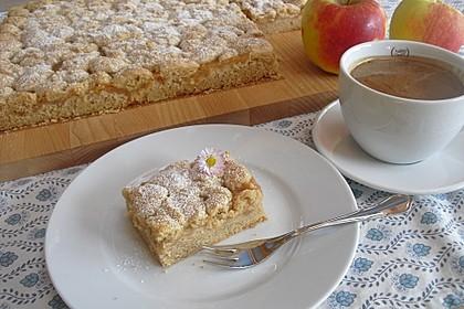 Apfelmus-Streusel-Blechkuchen 2