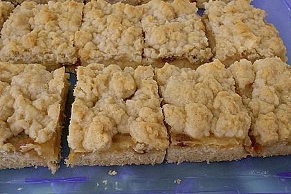 Apfelmus-Streusel-Blechkuchen 1