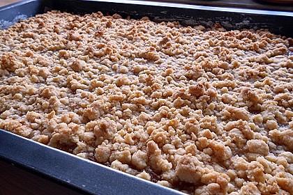 Apfelmus-Streusel-Blechkuchen 6
