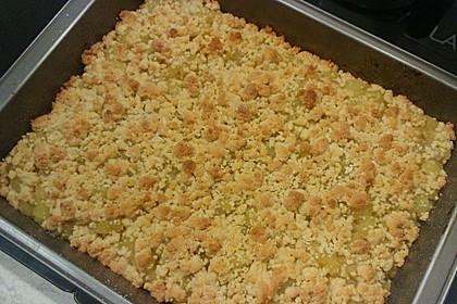 Apfelmus-Streusel-Blechkuchen 5