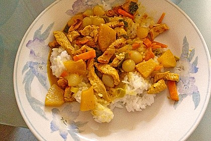 Nevs gelbes Curry