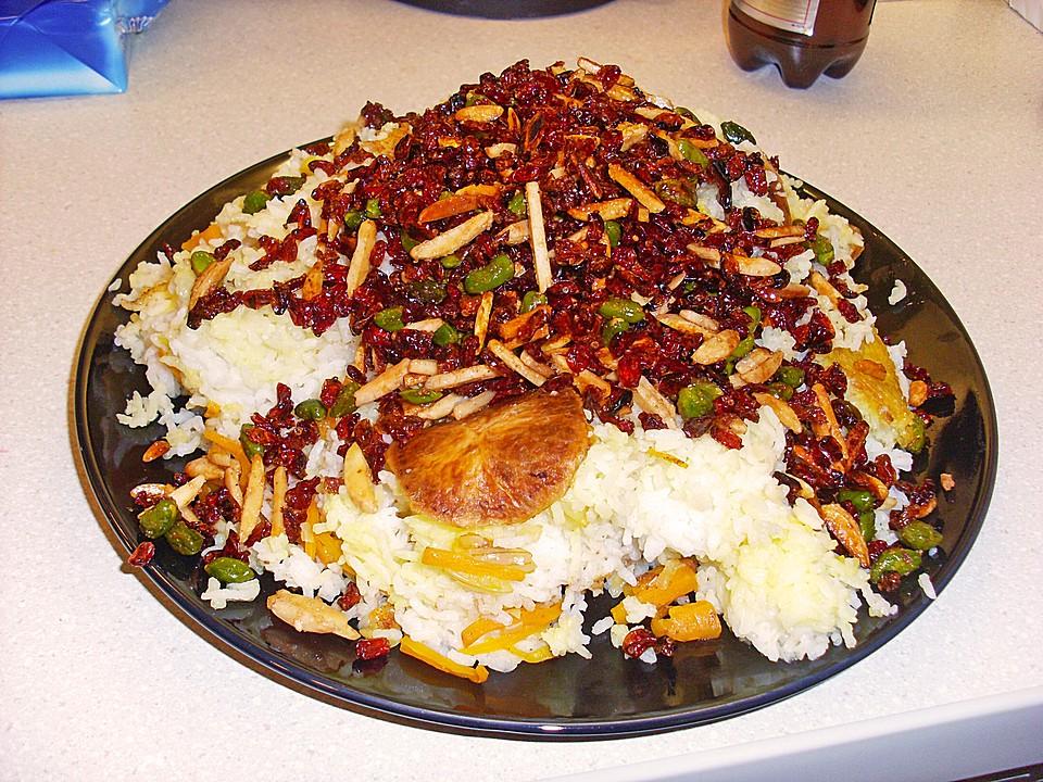 Klassische küche rezepte  Persischer Juwelenreis von friaufeck   Chefkoch.de