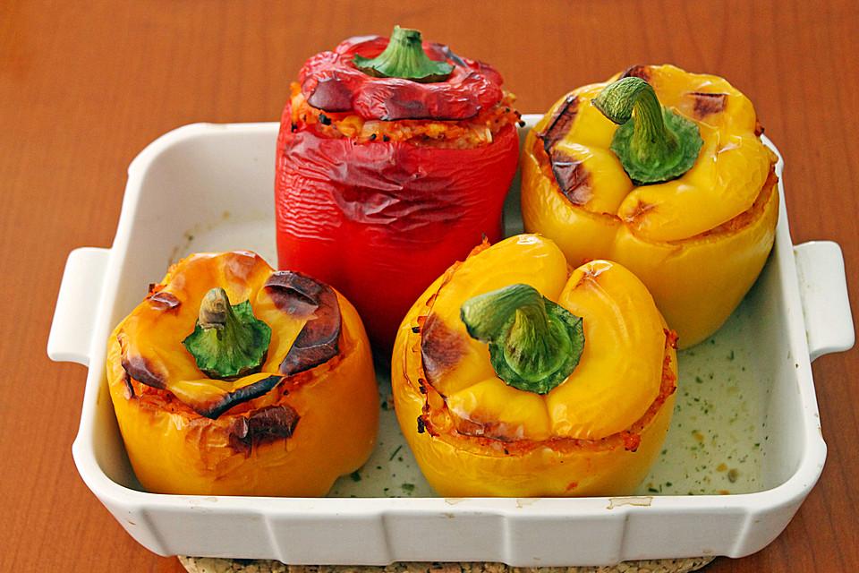 gef llte paprika vegetarisch rezept mit bild von fetafieber. Black Bedroom Furniture Sets. Home Design Ideas