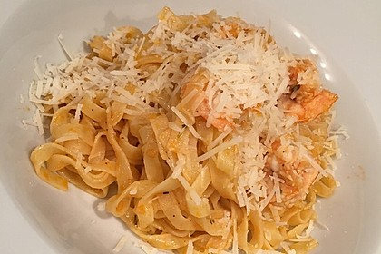Spaghetti aglio olio e scampi 5